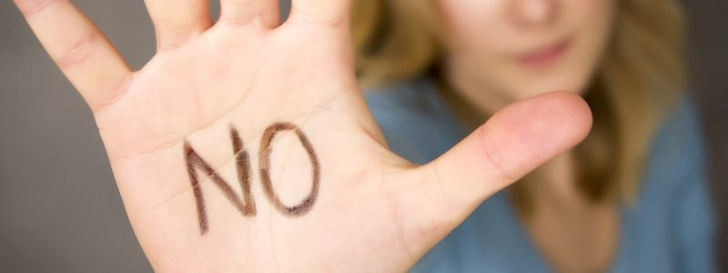 Saying No…A Lesson in Personal Power and Submission