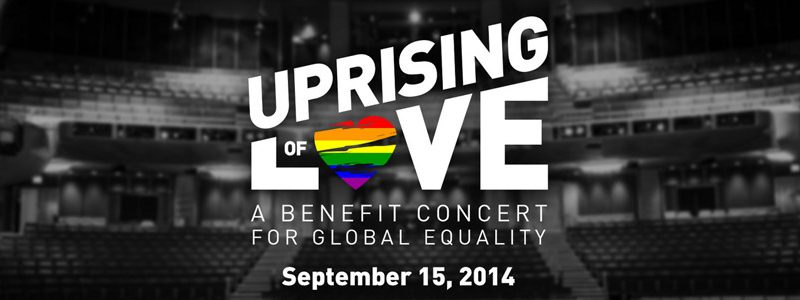 'Uprising of Love' Concert To Support LGBTI Community Worldwide – New York, NY
