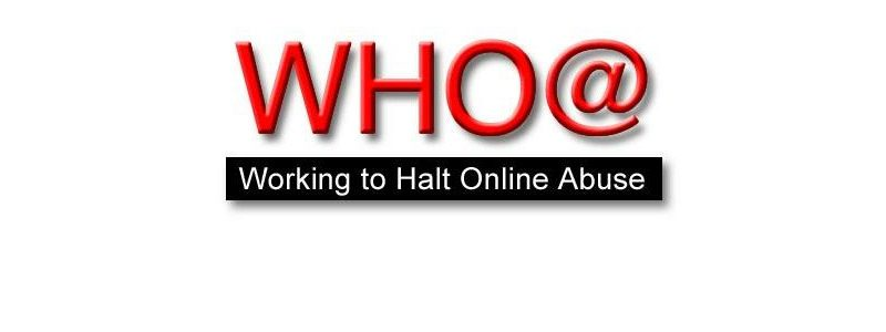 Know Your Rights! WHO@ – Working To Halt Online Abuse